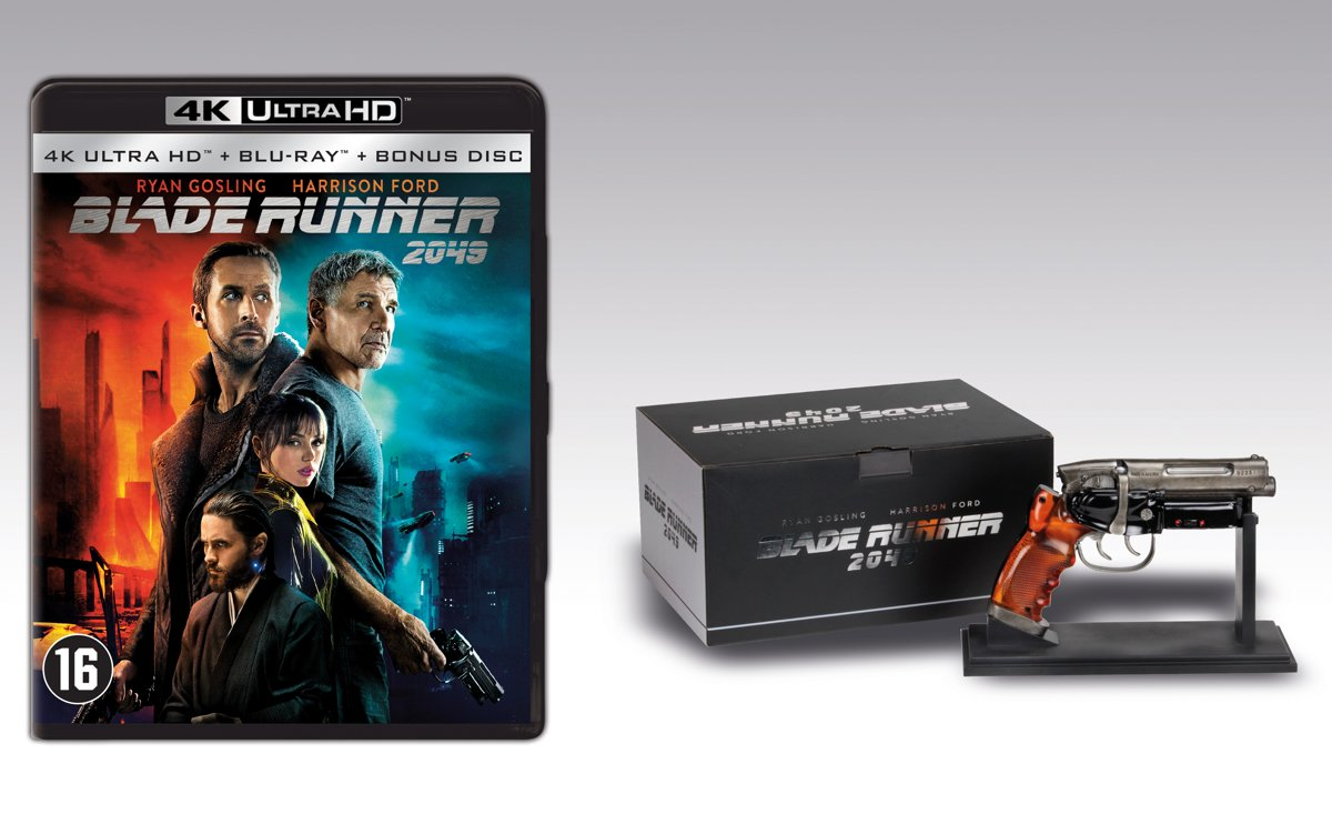 Blade Runner 2049 - Limited Deckard Blaster Edition (4K Ultra HD Blu-ray + Blu-ray)-