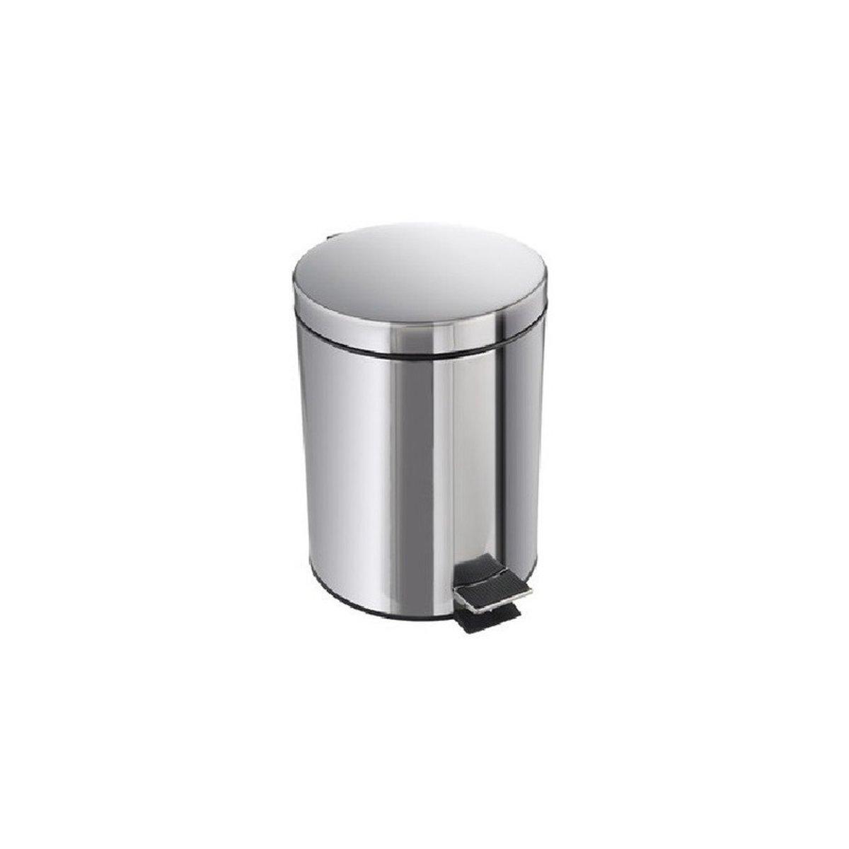 RVS pedaalemmer - 3 liter - afvalbakje / vuilnisbakje kopen