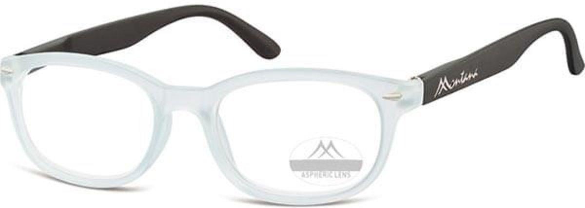 Montana Leesbril Rechthoekig Transparant Sterkte +3,00 (box70) kopen