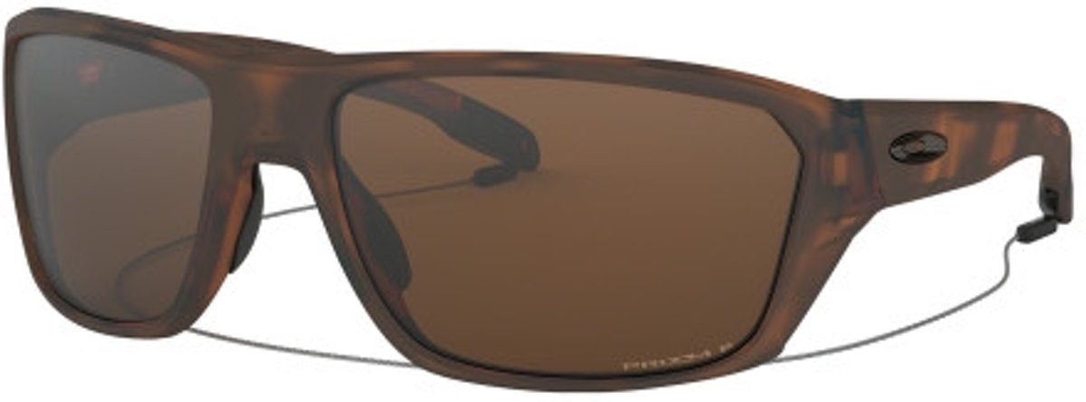 Oakley zonnebril - Split Shot -  matt tortoise - Prizm tungsten polarized kopen
