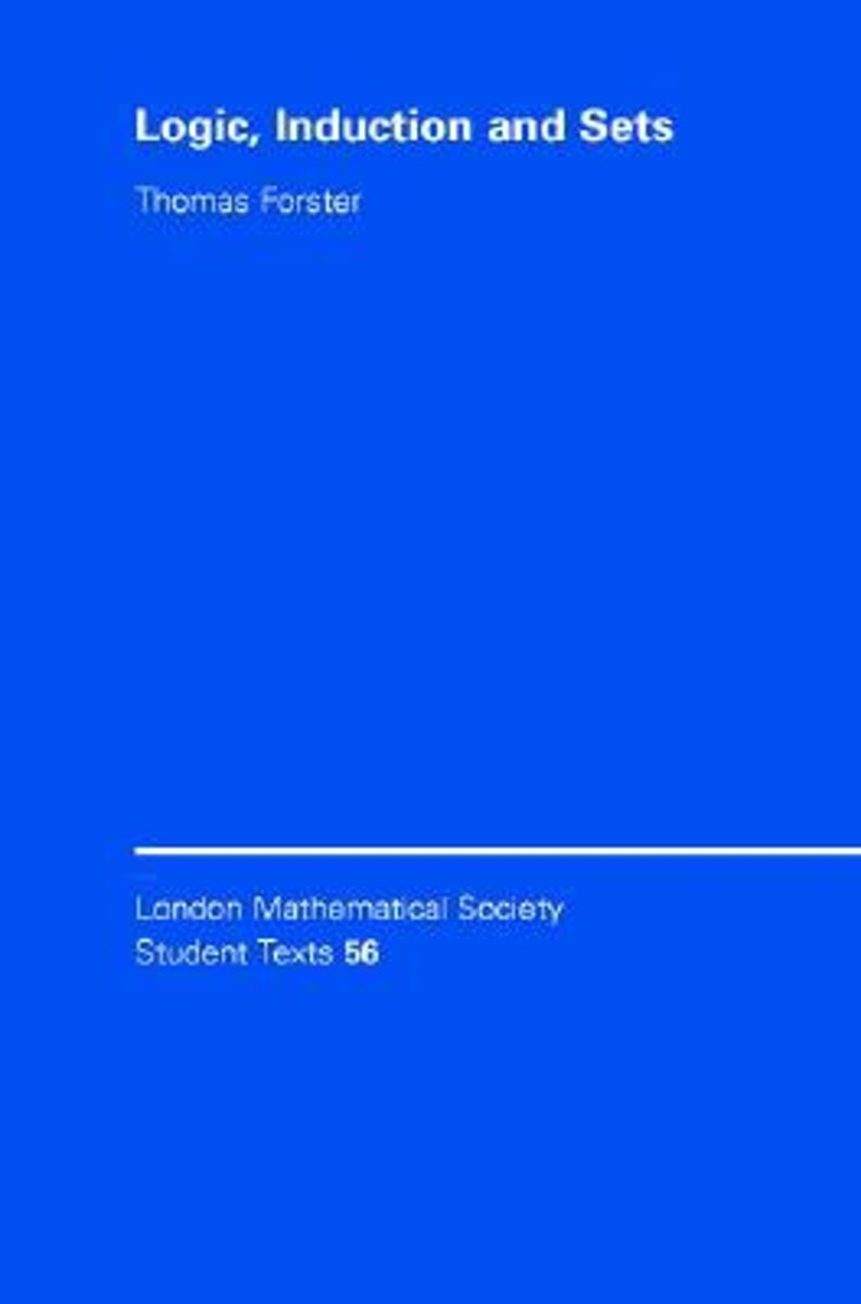 bol.com | London Mathematical Society Student Texts | 9780521826211 |  Thomas Forster | Boeken