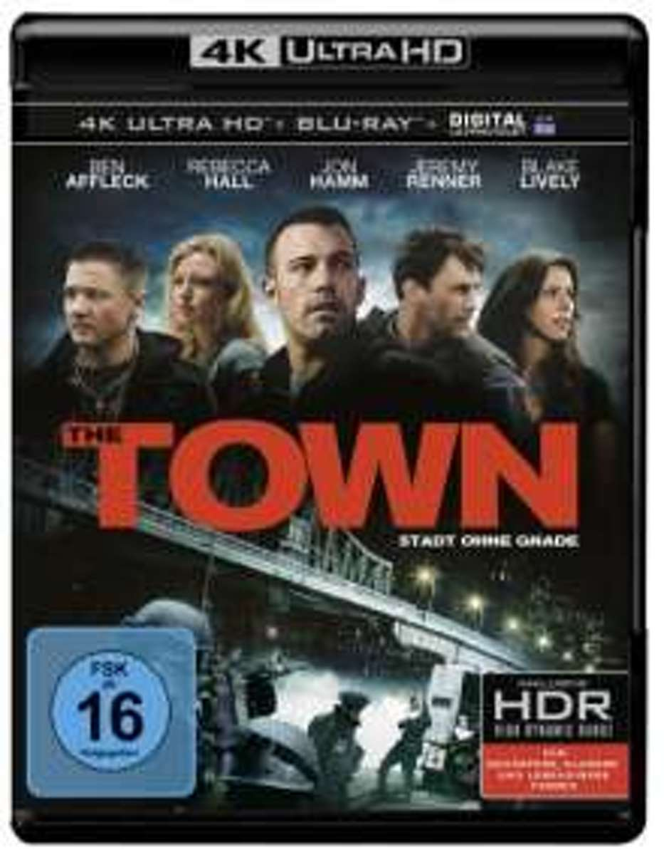 The Town (2010) (Ultra HD Blu-ray & Blu-ray)-