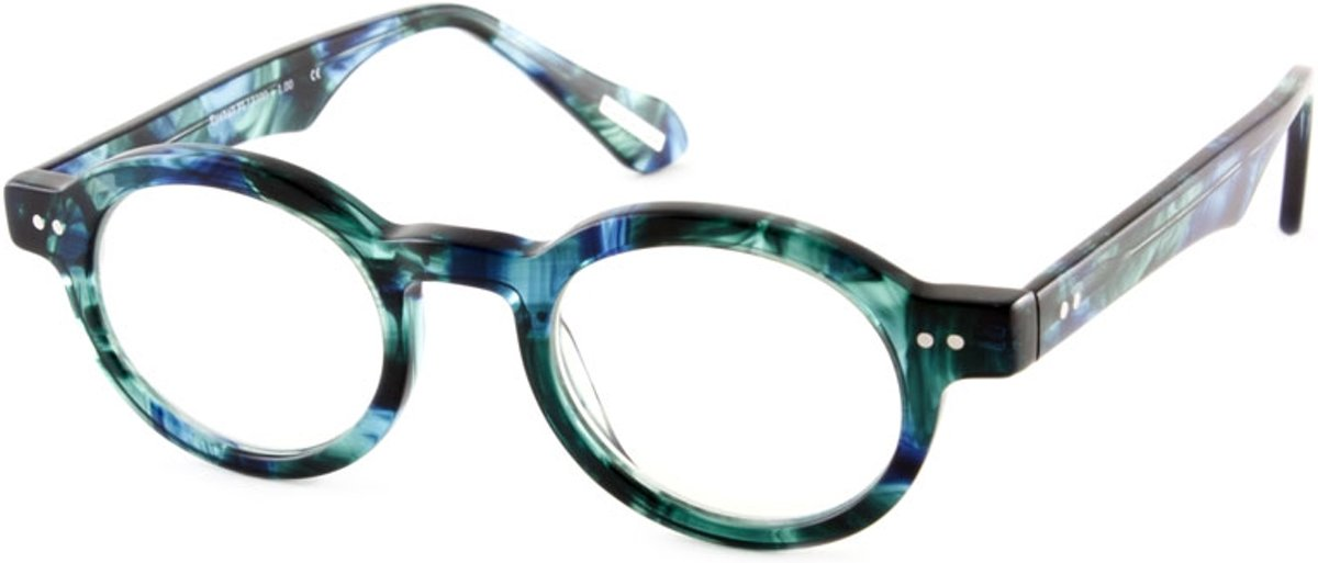 Leesbril Frank and Lucie Eyeball FL13300 Treetop Blue-+1.50 kopen