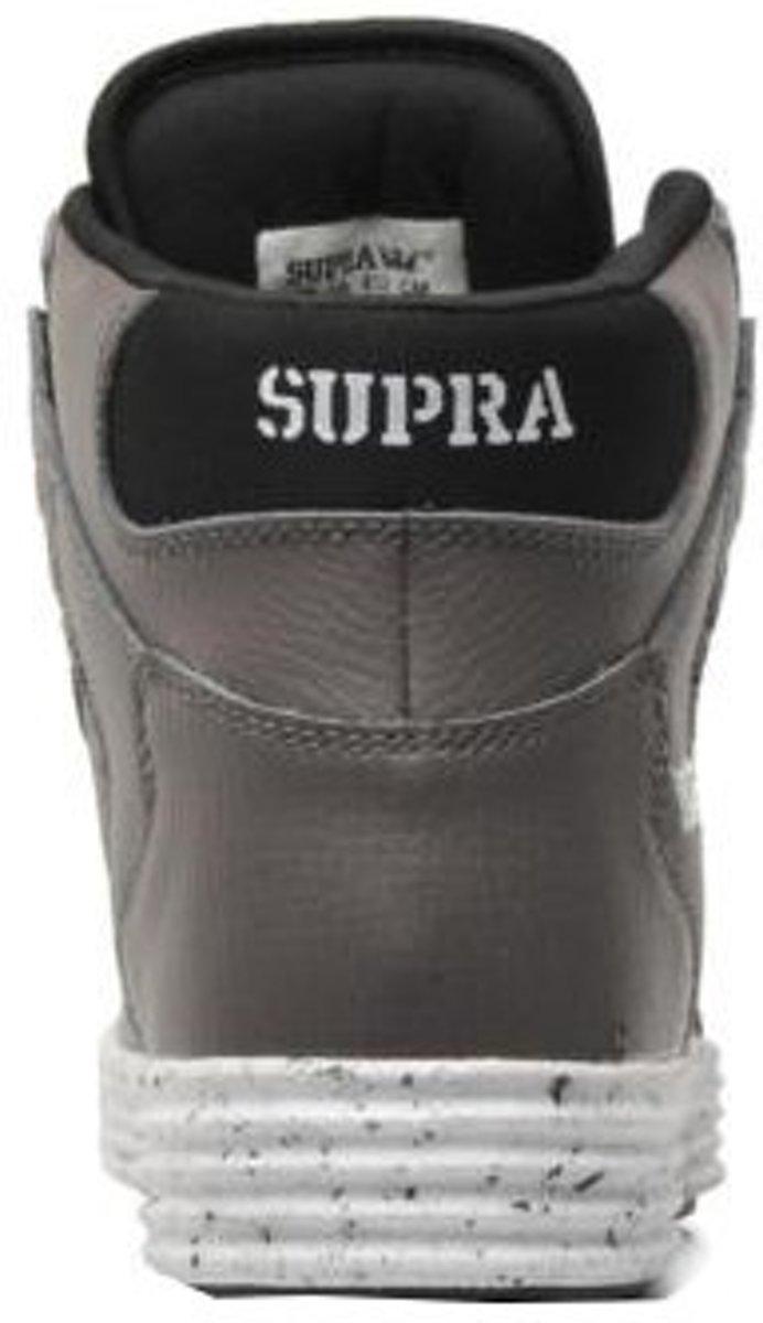Baskets Supra Haute Hommes Lite Vaider Taille Gris / Blanc 40,5