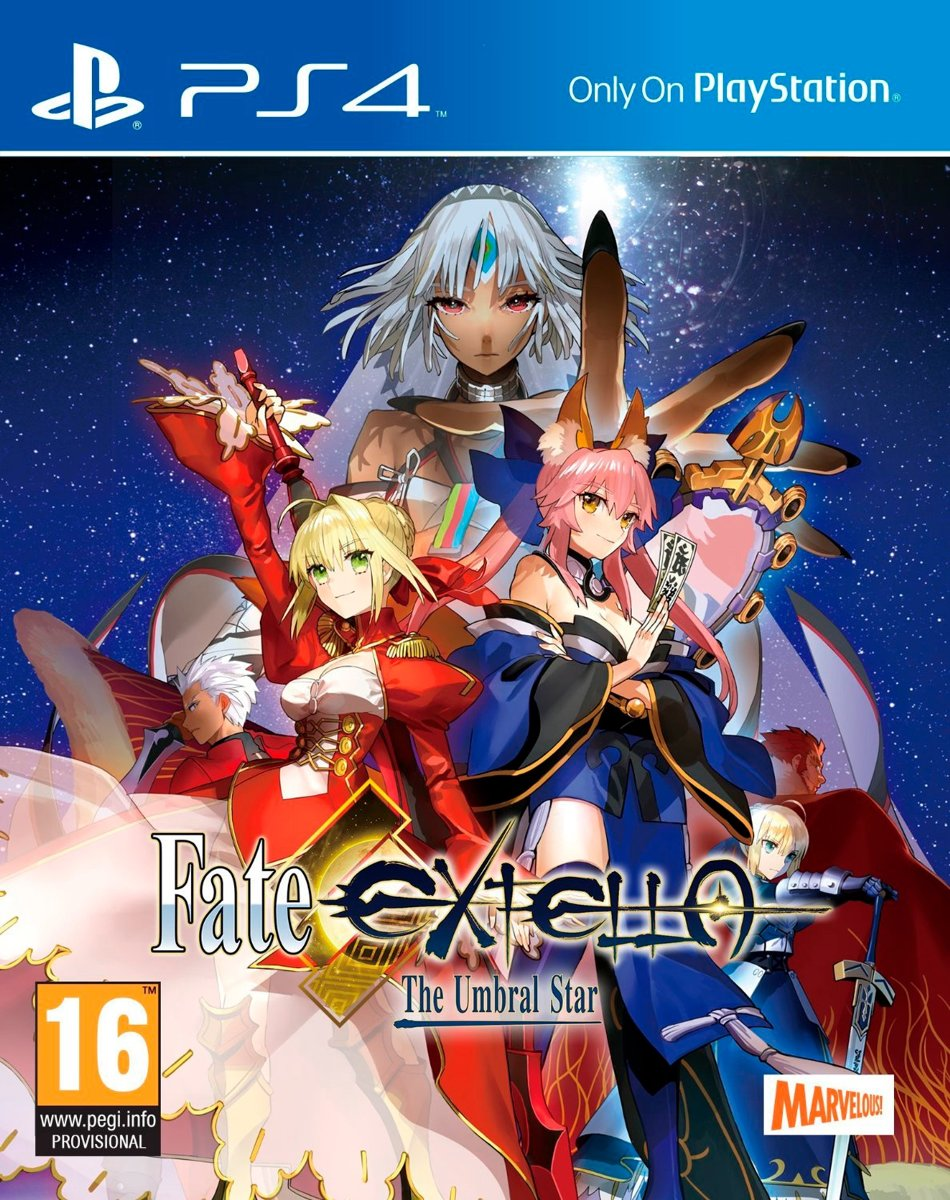 Fate EXTELLA, The Umbral Star PlayStation 4