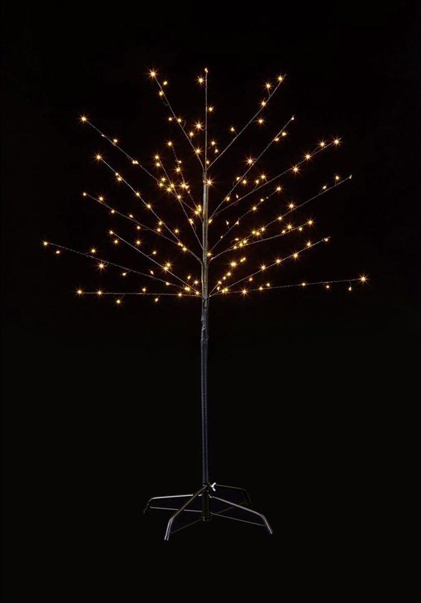 LED-boom Kers bloesems 150 cm warm wit voor binnen en buiten kopen