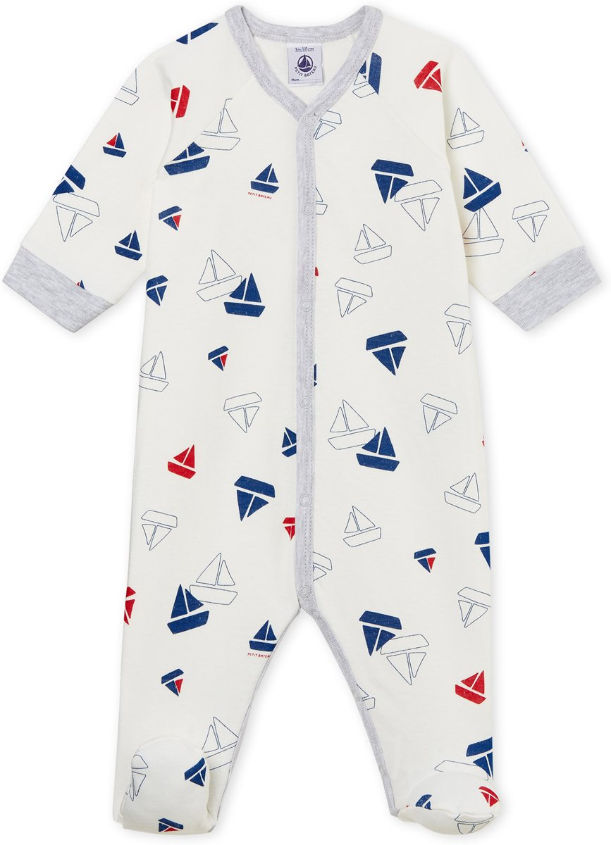 Petit Bateau Jongens Baby Boxpak - blauw - Maat 56 kopen