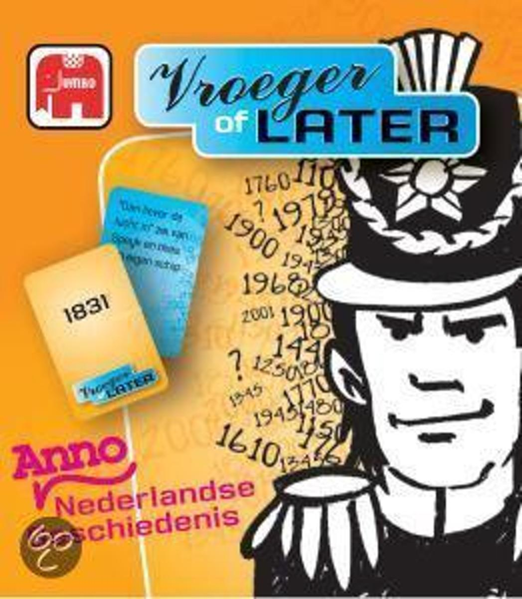 Vroeger of Later