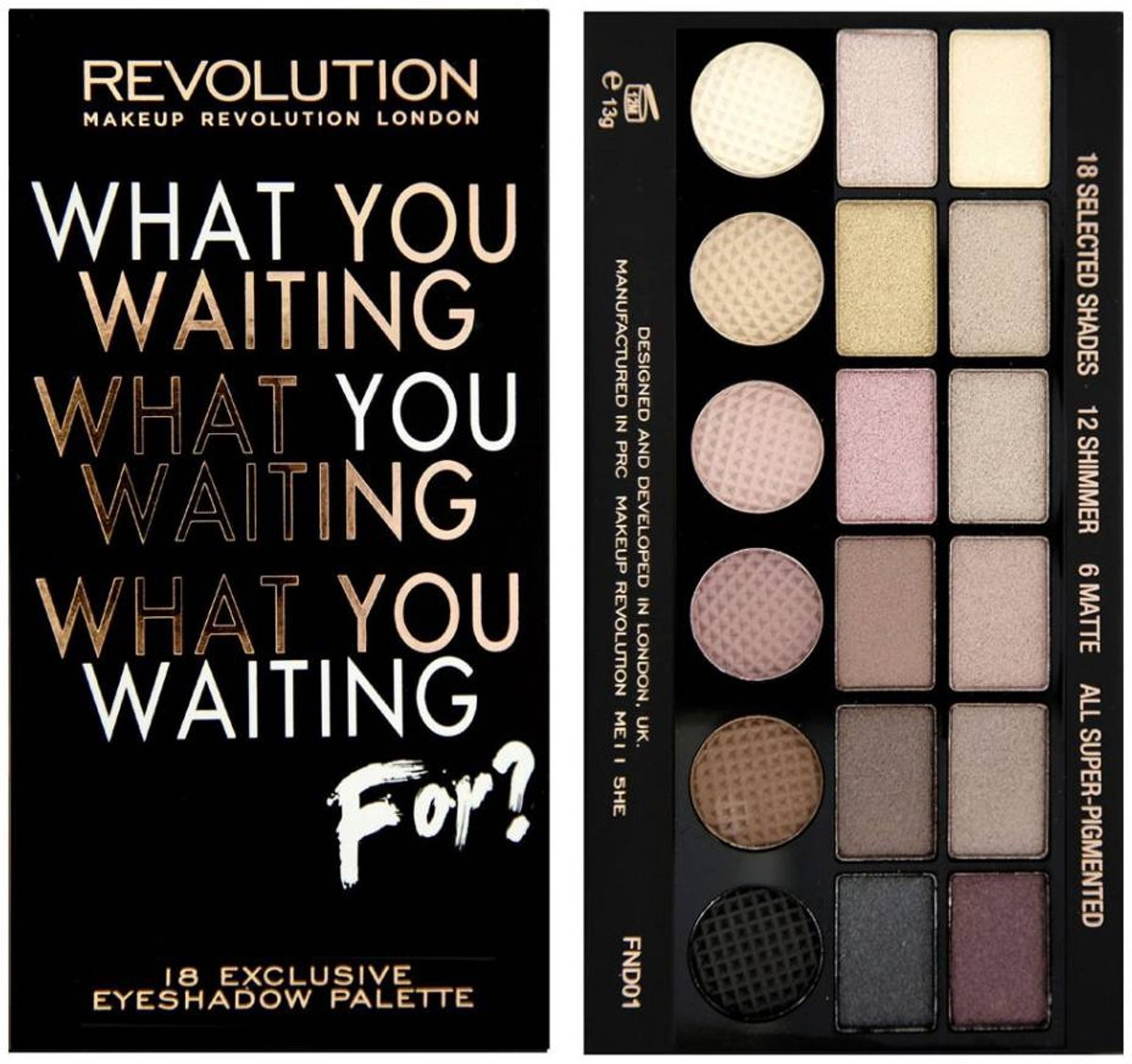 | Makeup Revolution Salvation What You Waiting For