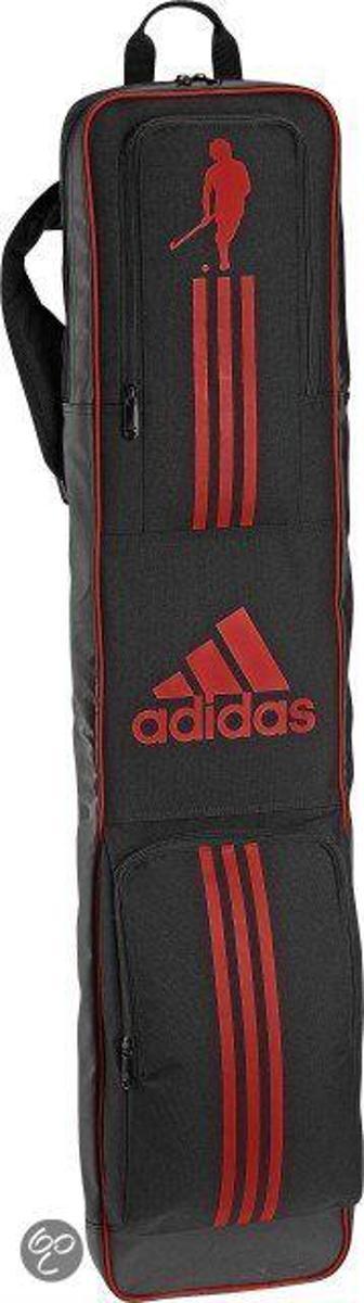 3583c263af4 bol.com | adidas Stickbag - Sticktas - Volwassenen - Zwart/ Rood