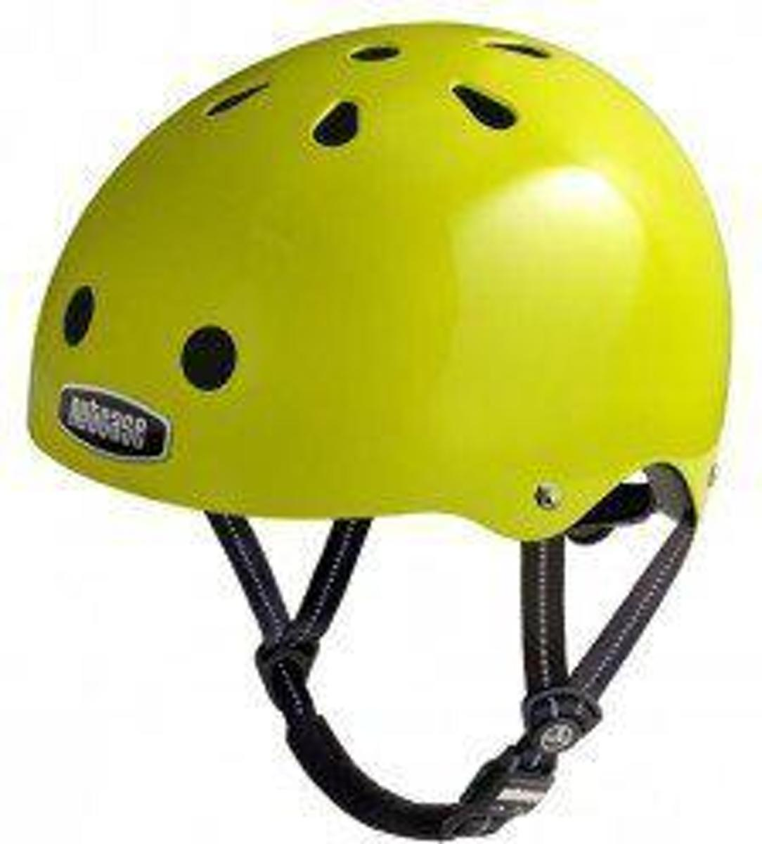 Nutcase - Electric Olive Street Helmet S kopen