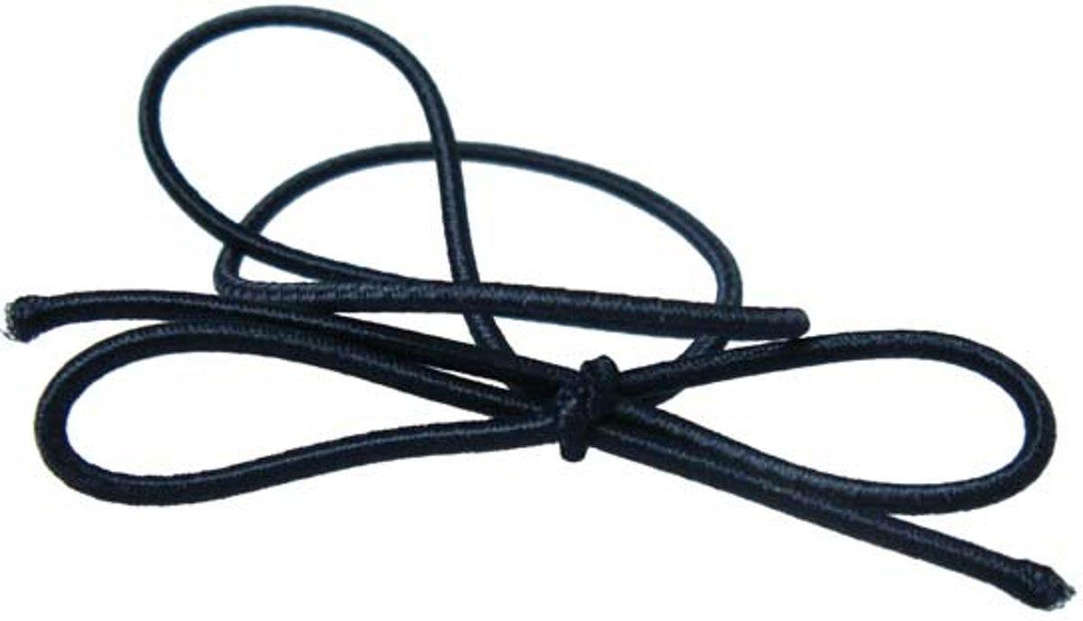 Versierelastiek Zwart 25,5cm (50 stuks)