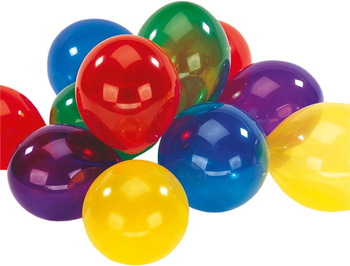 Ballonnen Crystal Assorti - 10 stuks