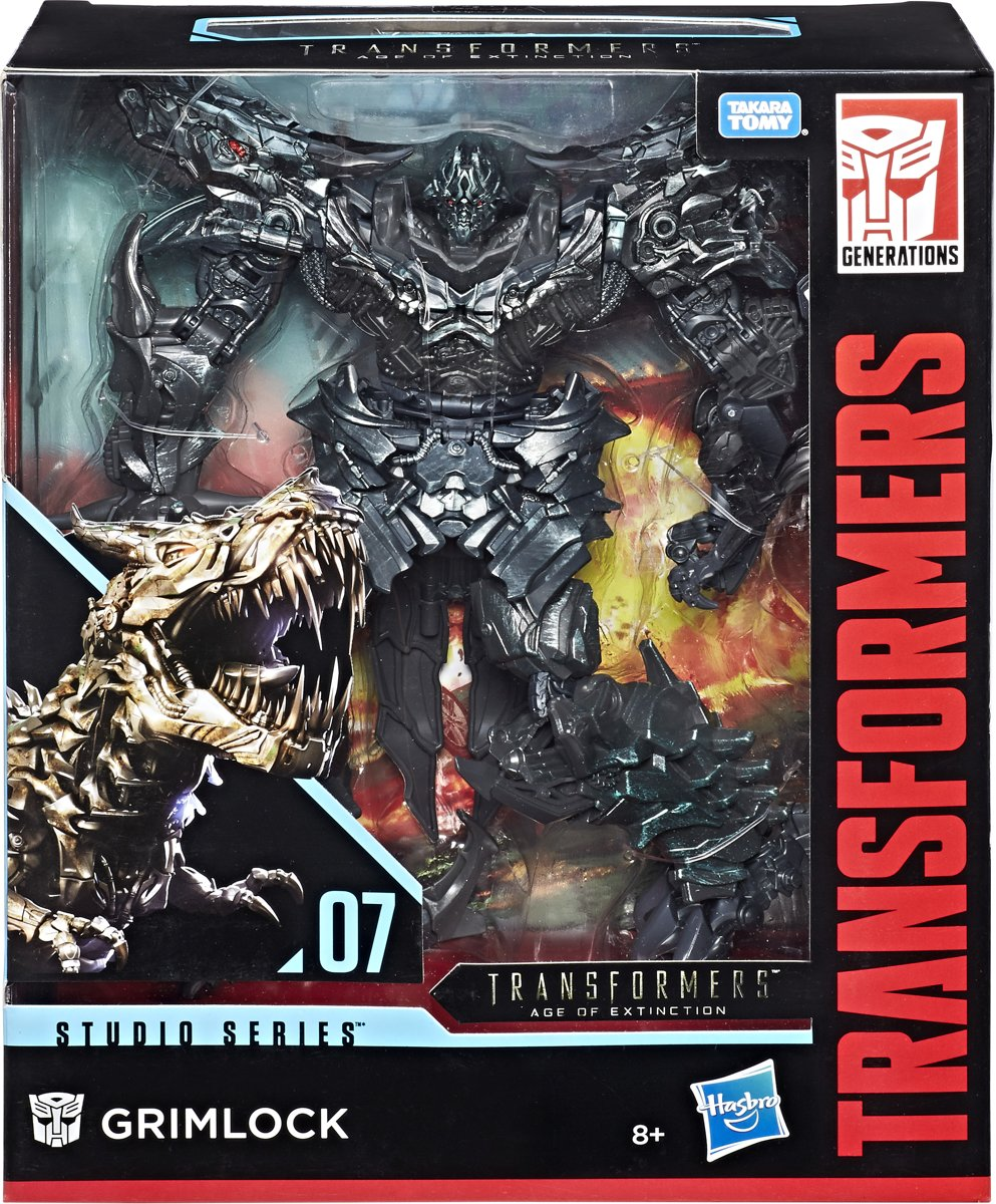 Transformers Generations Studio Series Leader Grimlock - Actiefiguur