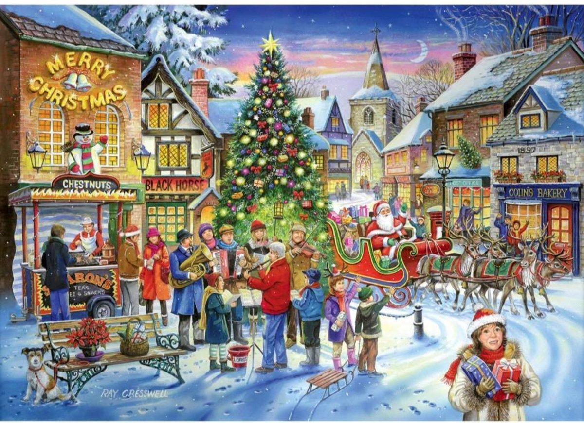 No.6 - Christmas Shopping Puzzel 500 Stukjes