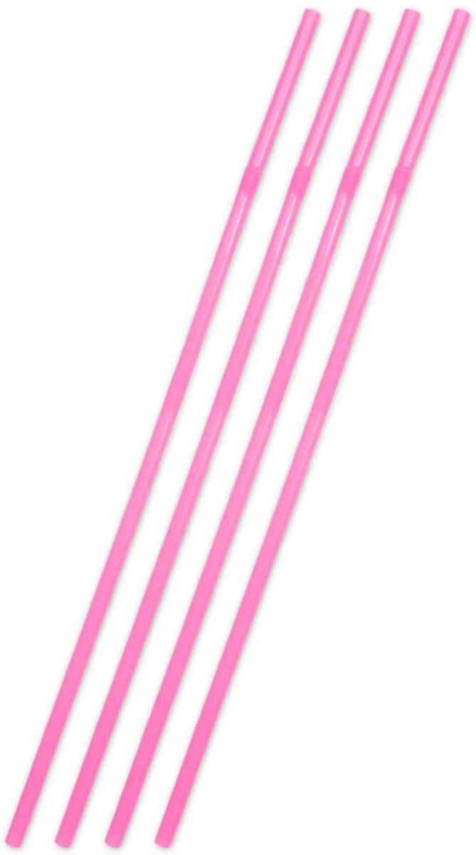 Grote XL Roze Rietjes - 25 stuks