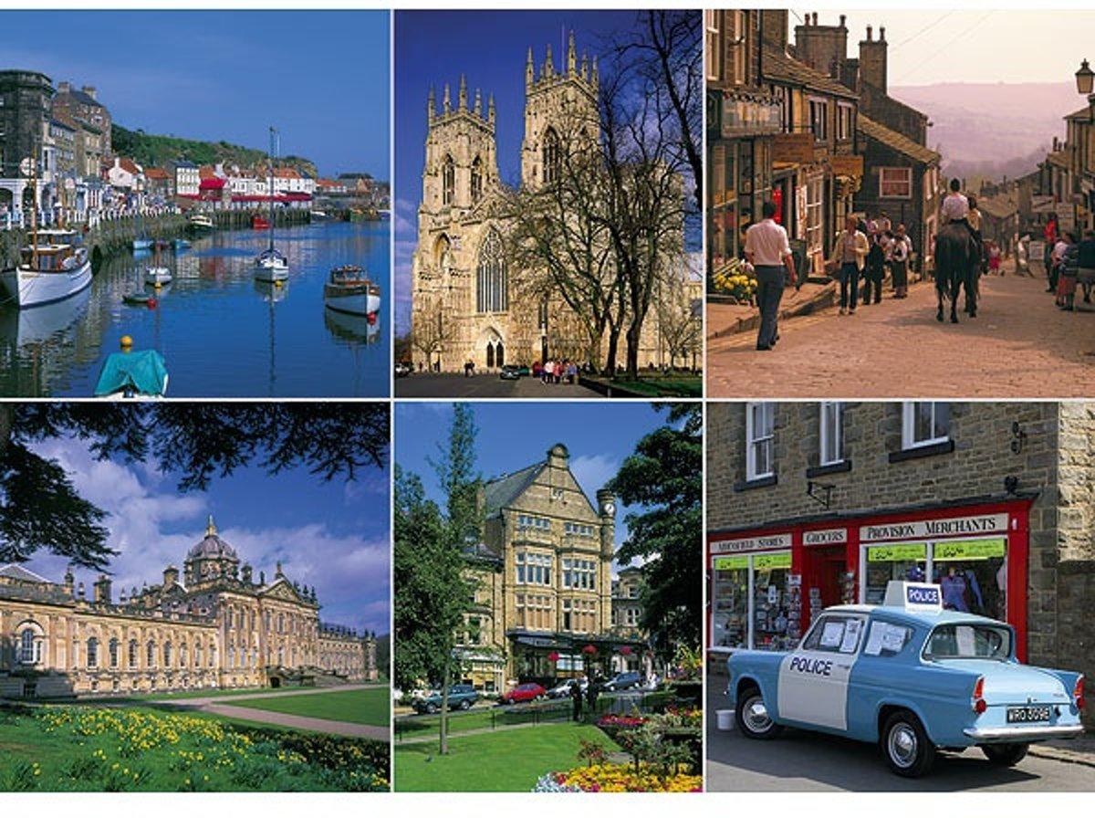 Legpuzzel van 1000 stukjes - Beautiful Britain, Yorkshire