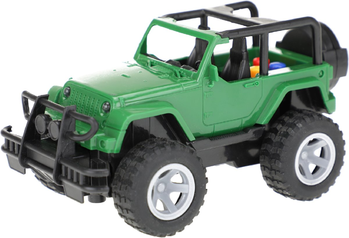 Toi-toys Off-road Buggy Frictie 15 Cm Groen