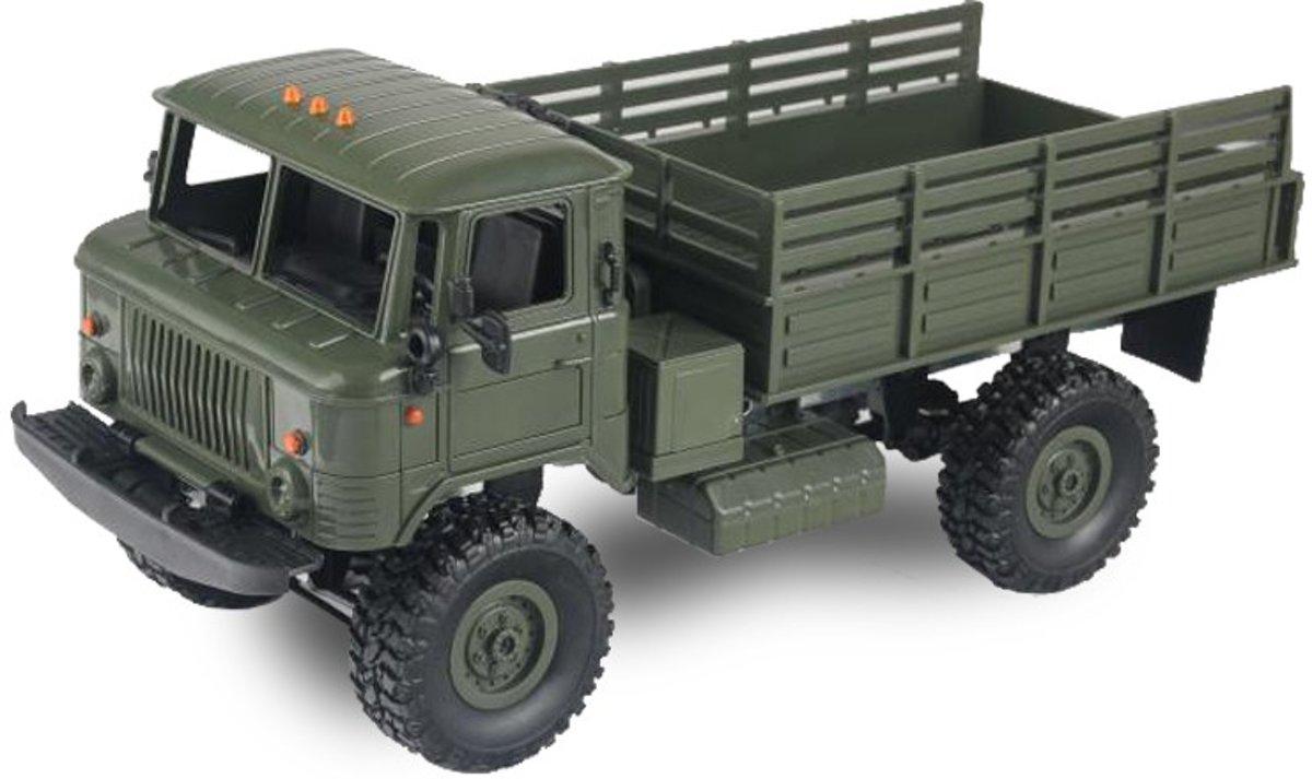 Amewi groene legertruck 4WD 1:16 RTR - bestuurbare auto