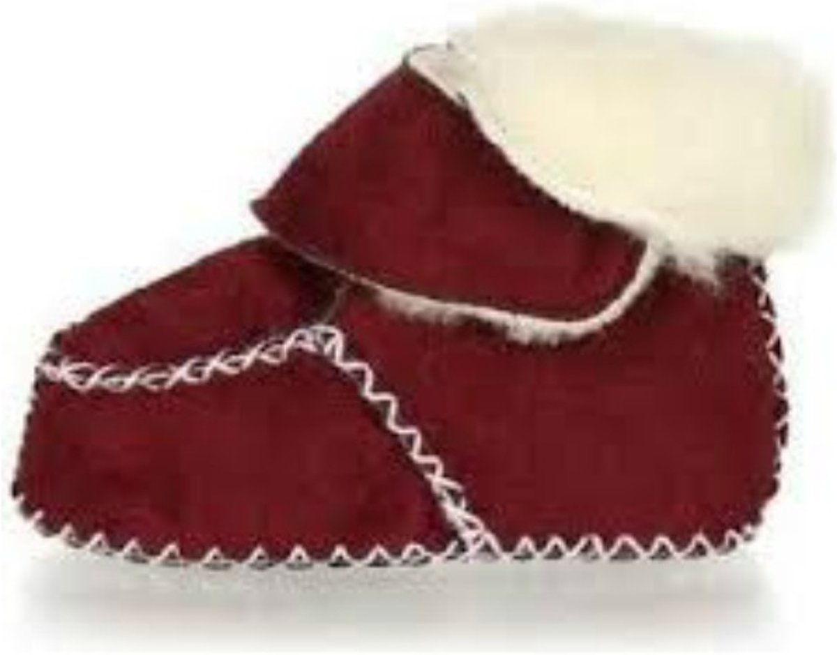Playshoes babyslofjes klittenband rood kopen