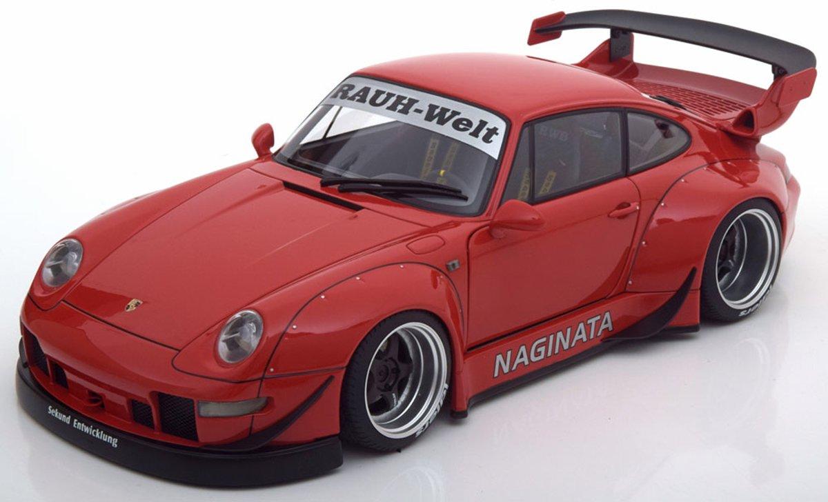 Porsche 911 / Type 993 RWB Rood 1-18 Autoart