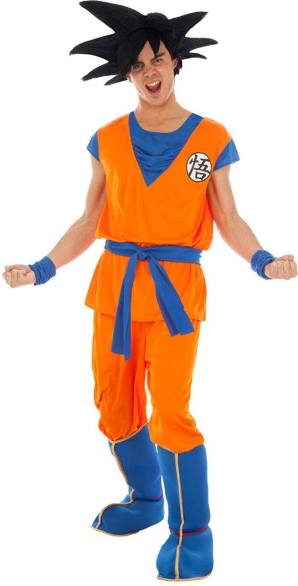 Goku Saiyan Dragon Ball Z™ kostuum voor volwassenen - Verkleedkleding - Maat S kopen
