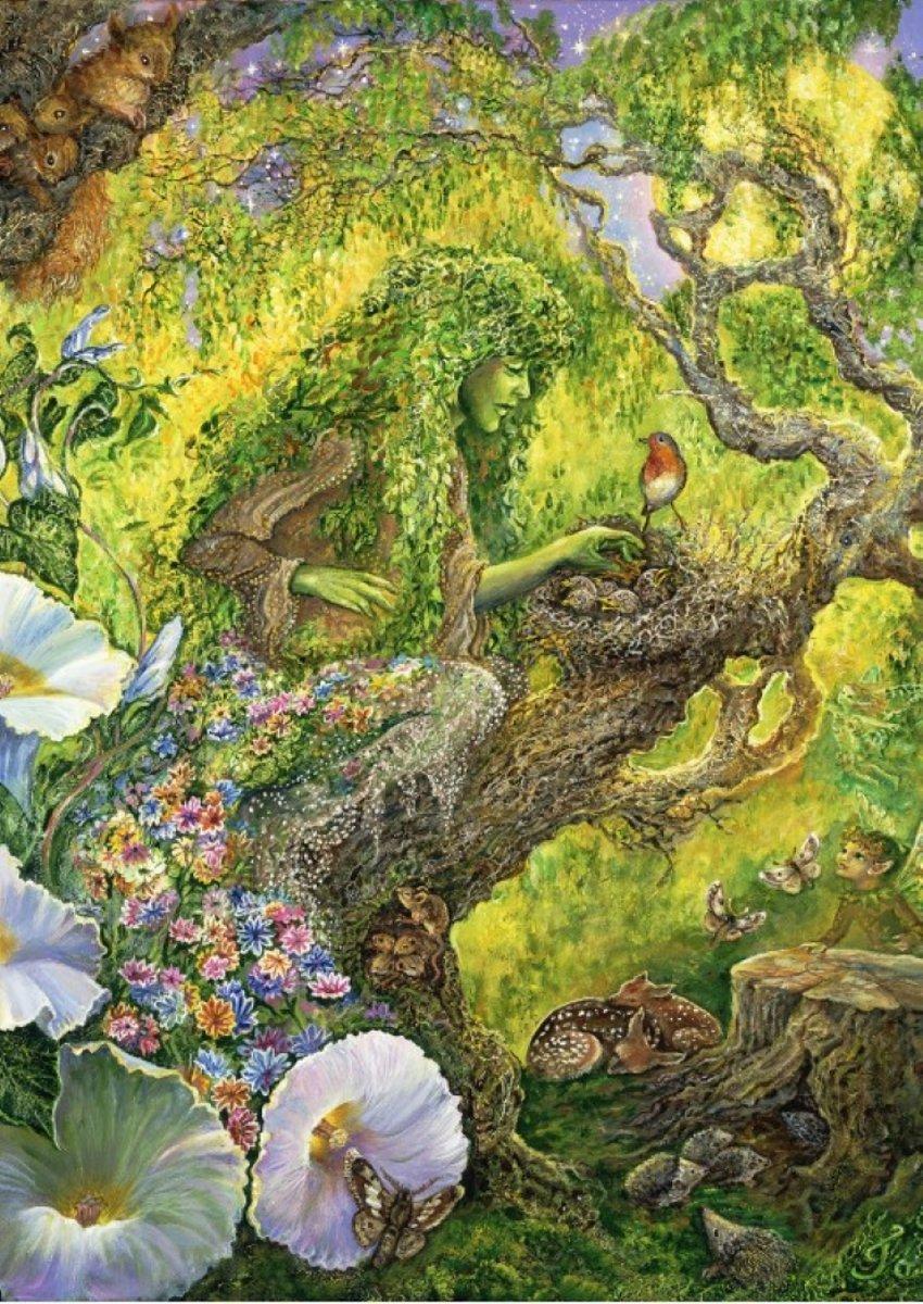Legpuzzel - 1000 stukjes - Forest Protector,  Josephine Wall - Grafika puzzel