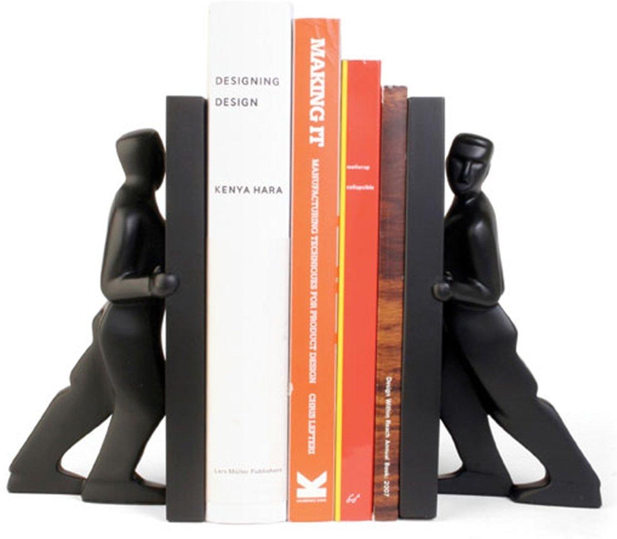Kikkerland  - Boekensteun - Zwart kopen