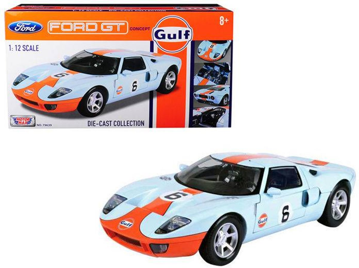 Ford GT Concept Gulf #6 - 1:12 - Motor Max