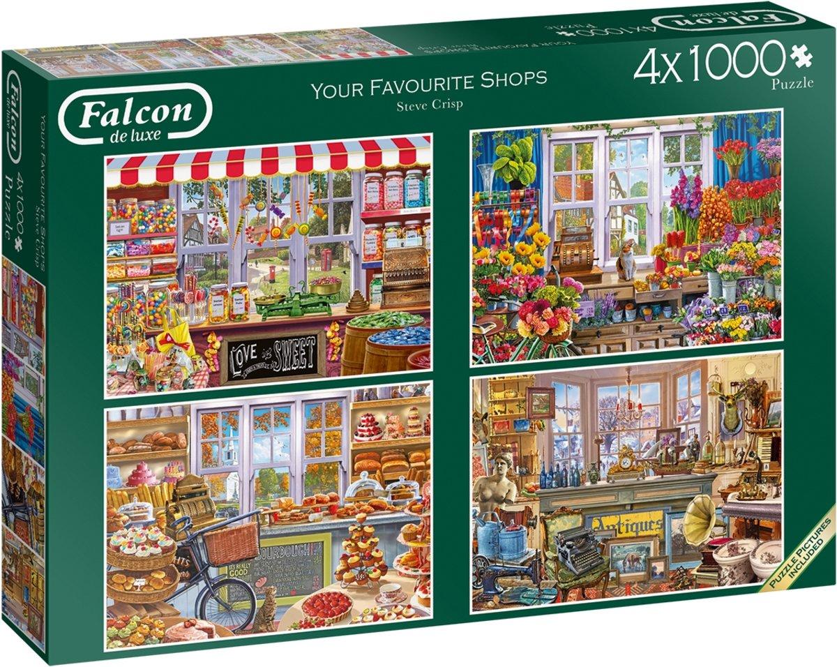 Falcon Your Favourite Shops 4x 1000 pcs