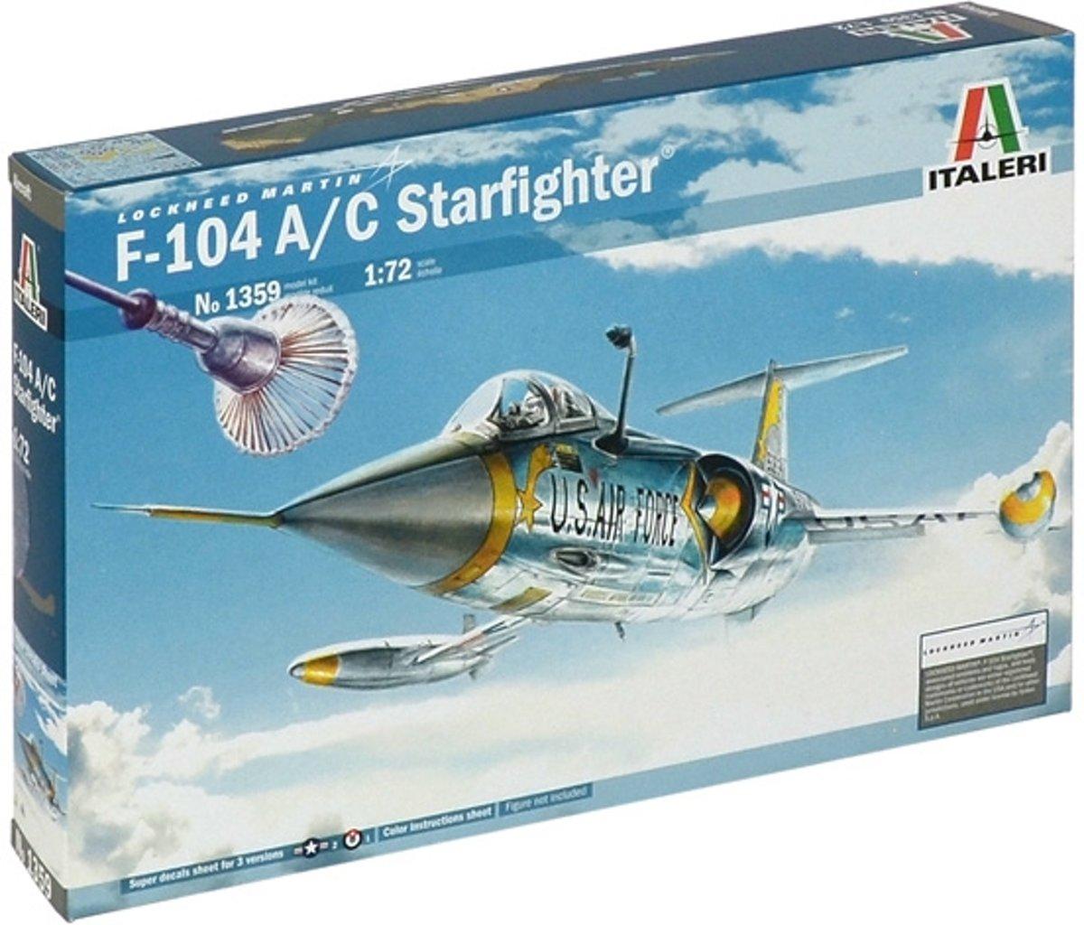 Italeri F-104 Starfighter 1:72 Montagekit
