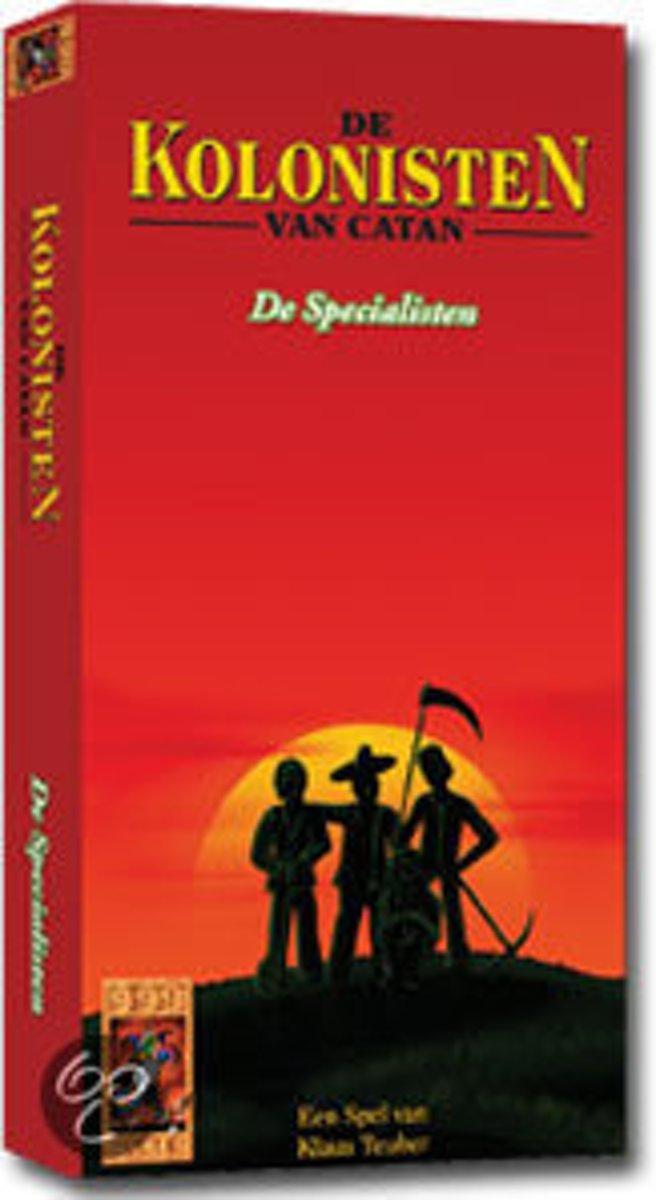 Kolonisten van Catan: scenario: De specialisten