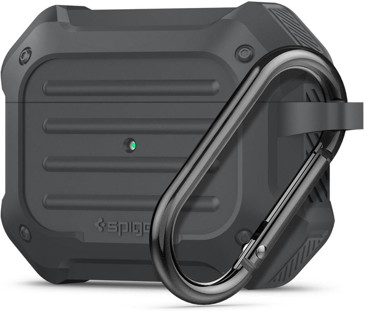 Spigen Airpods Pro Tough Armor Charcoal kopen
