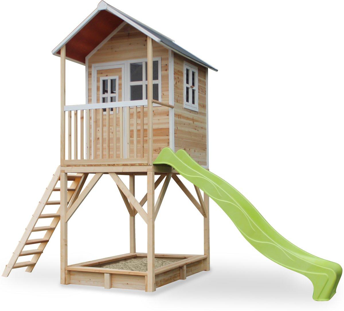 EXIT Loft 700 houten speelhuis - naturel