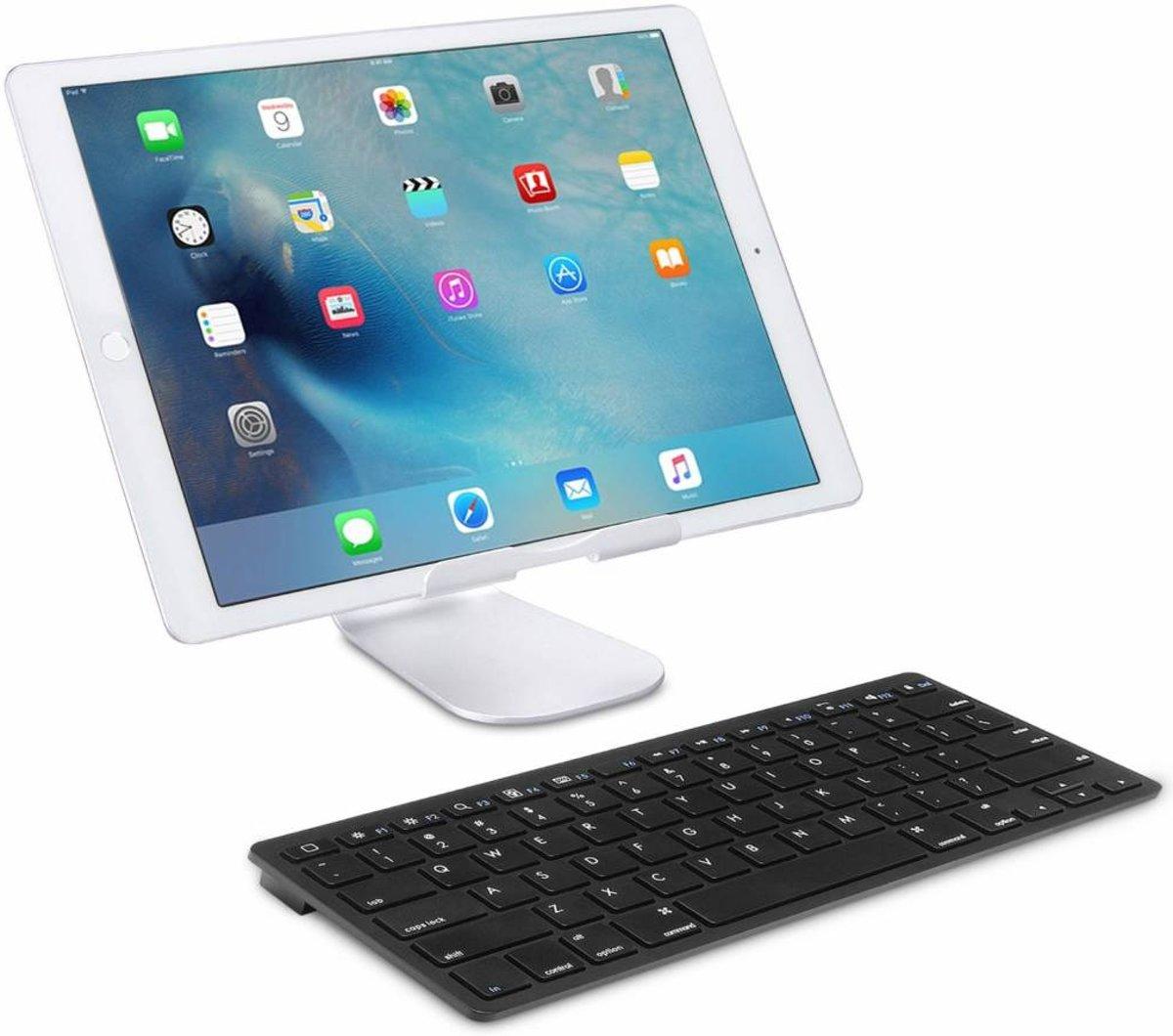 iPad 2018 draadloos bluetooth toetsenbord zwart kopen