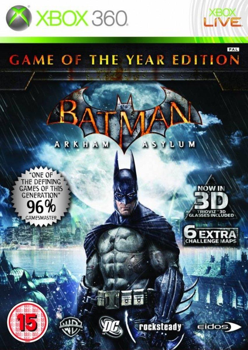 Batman: Arkham Asylum Game of the Year Edition /X360 kopen