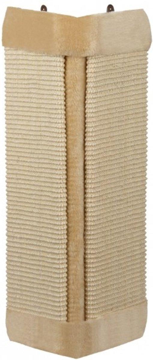 Nobby Hoekkrabplank - Sisal en Pluche - Beige - 61 x 32 cm kopen