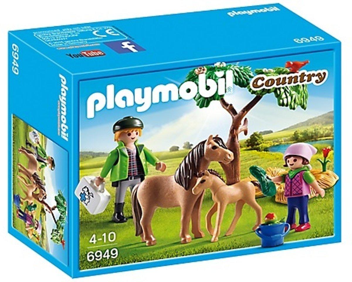 Playmobil Country: Dierenarts Met Pony's (6949)