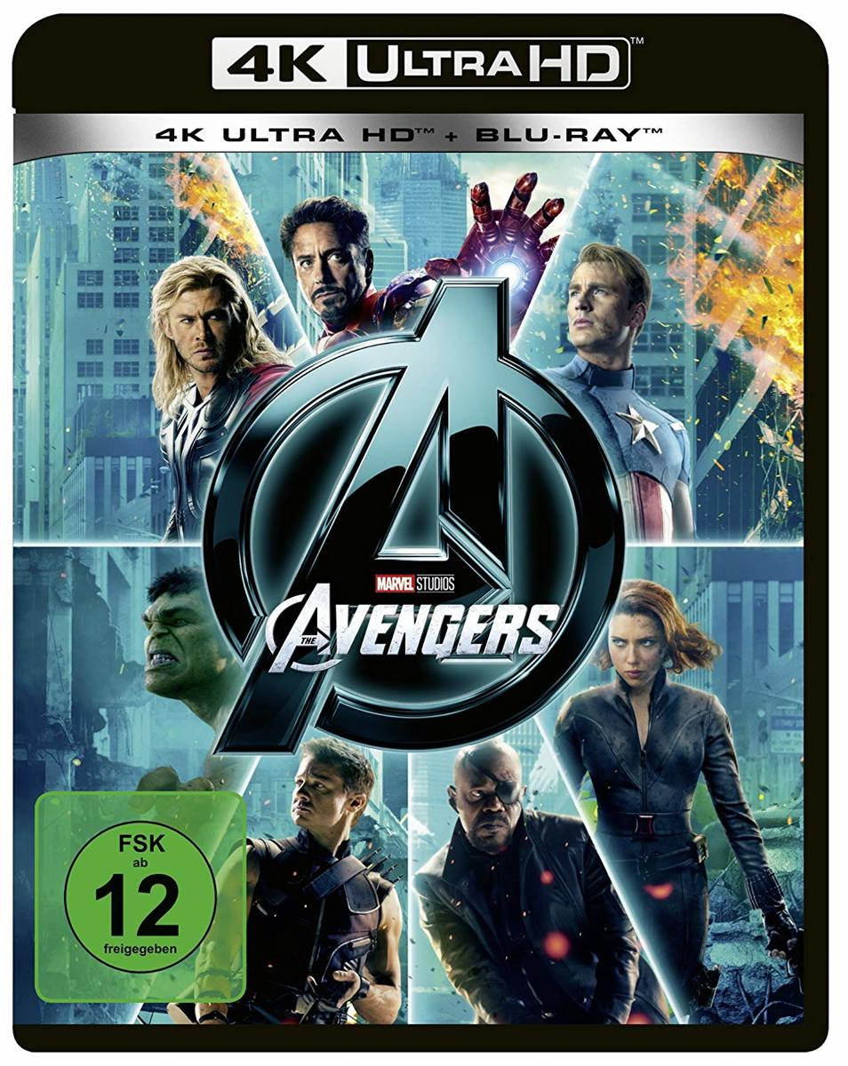 The Avengers (2011) (Ultra HD Blu-ray & Blu-ray)-