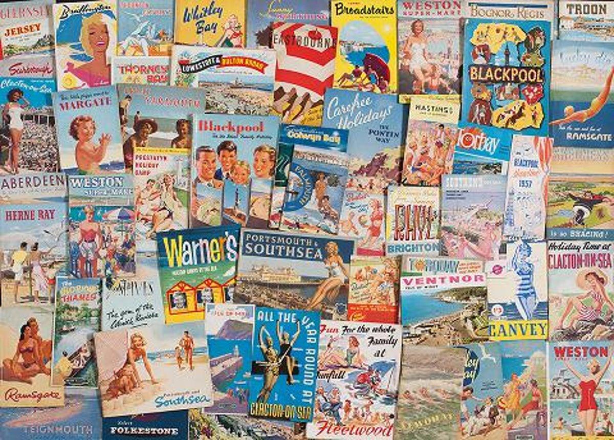 Legpuzzel van 1000 stukjes - Happy Holidays, Robert Opie
