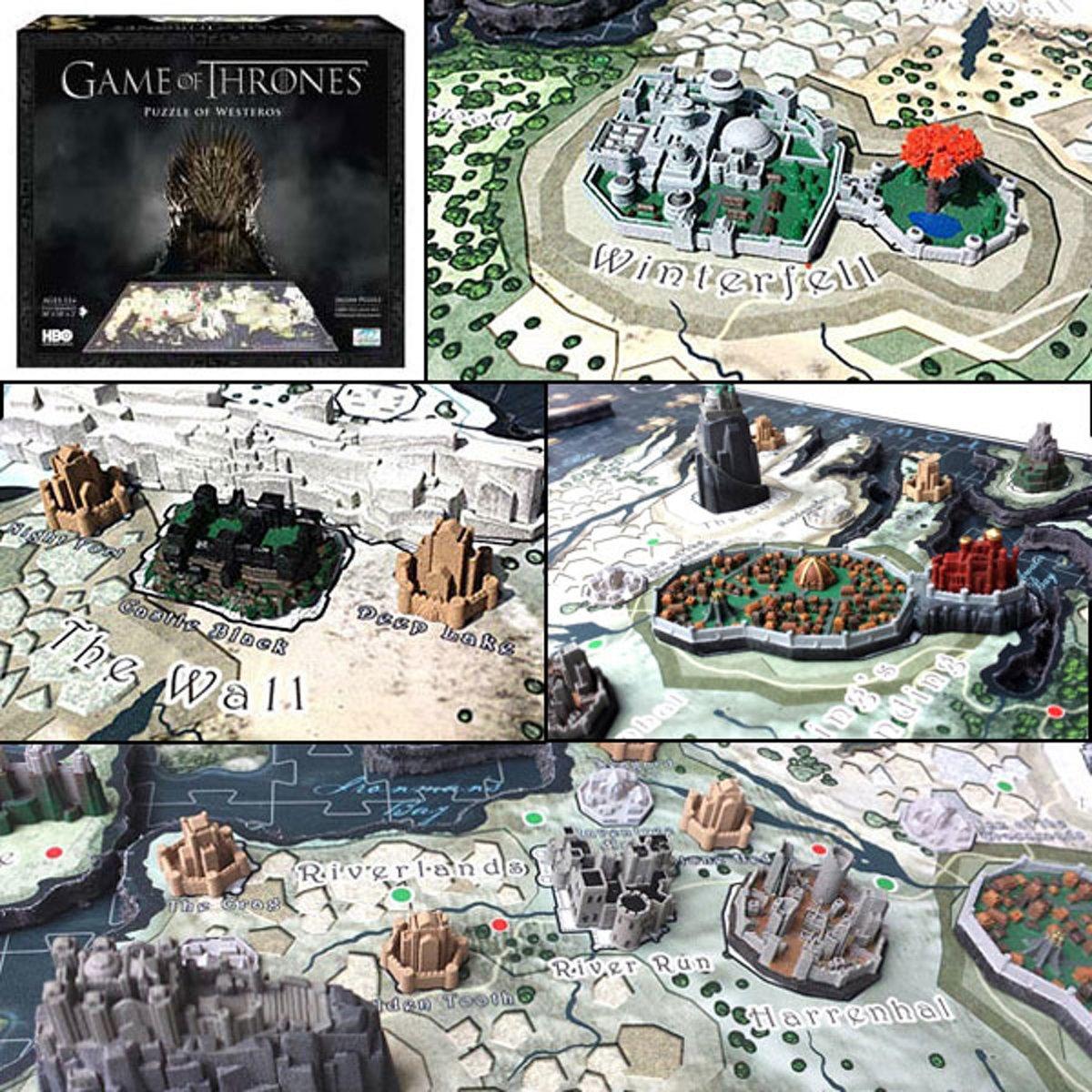 Game of Thrones 4D puzzle - Westeros