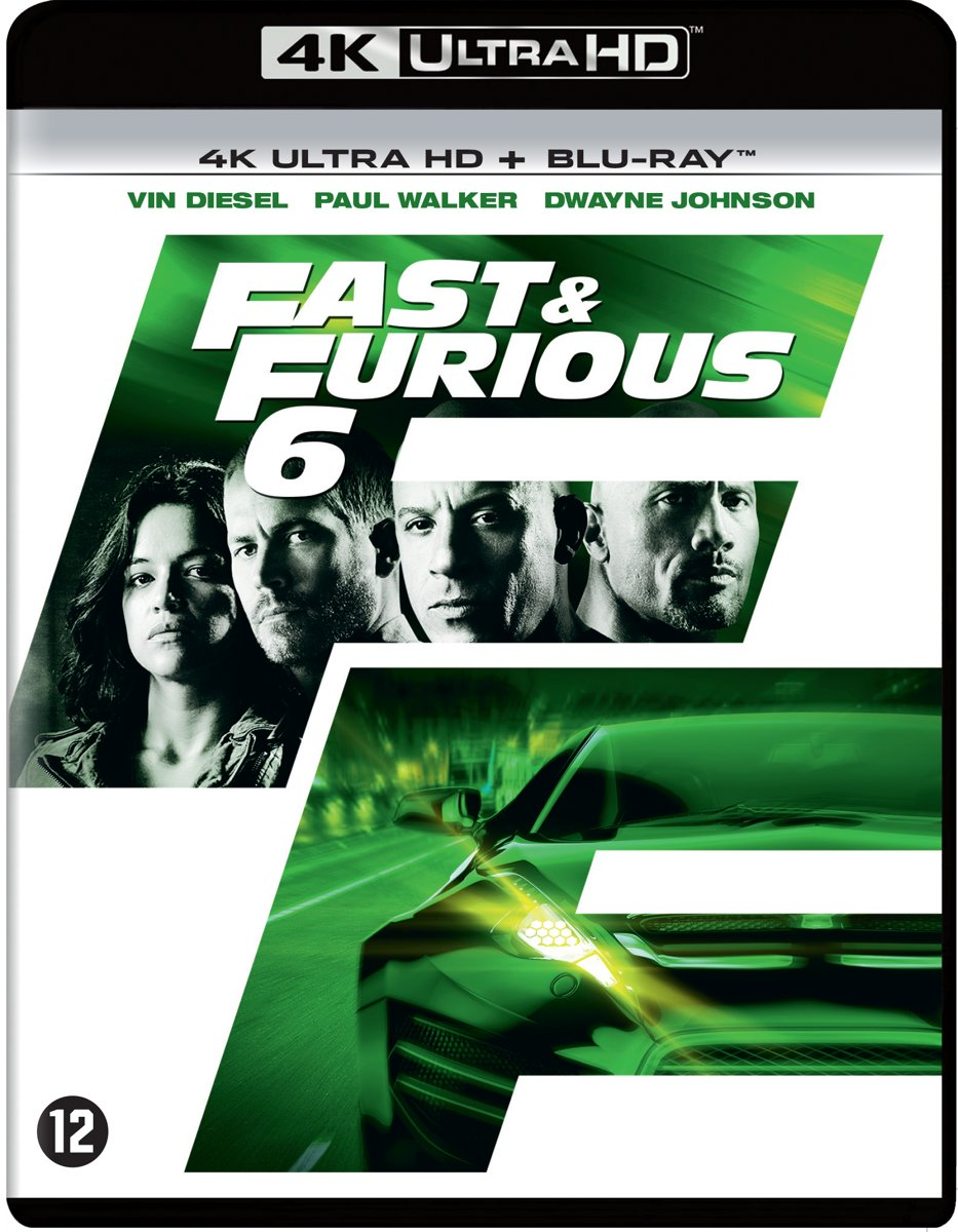 Fast & Furious 6 (4K Ultra HD Blu-ray)-