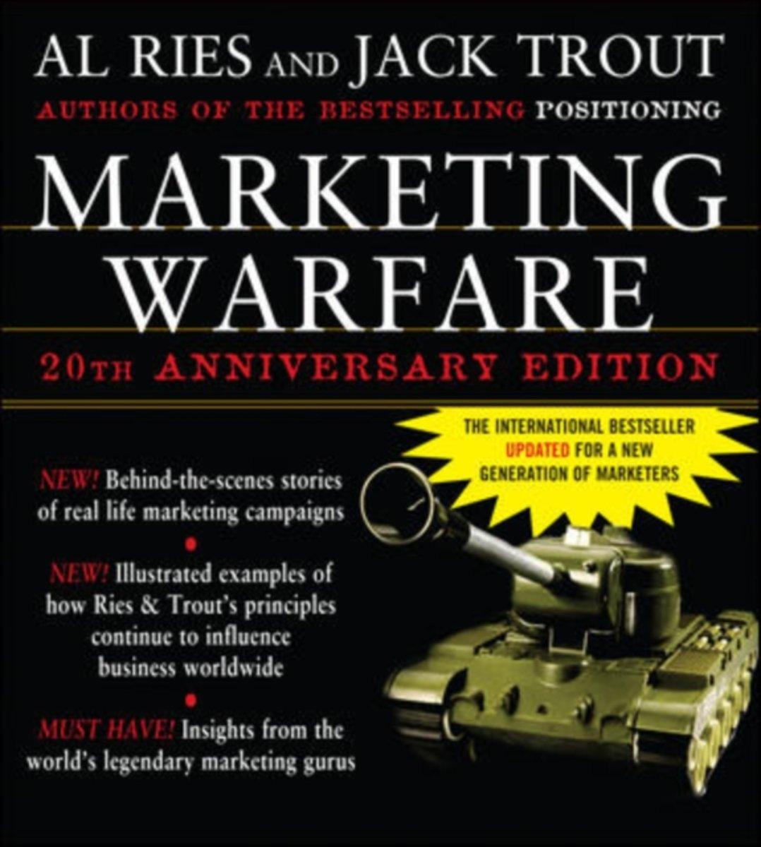 Al Ries, Jack Trout Marketing Wars: content, reviews