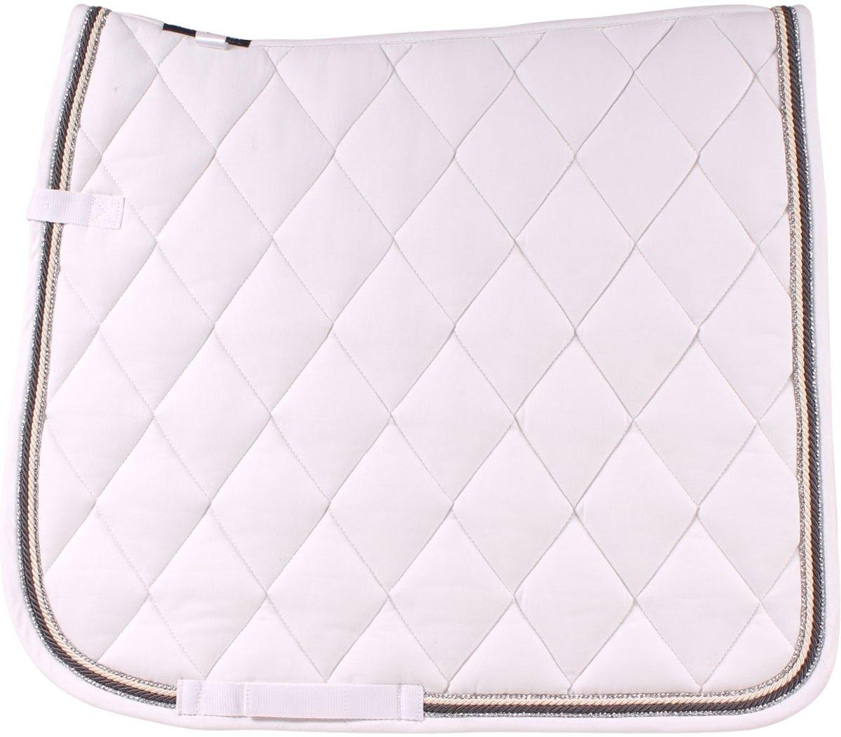 Horsegear Zadeldek  Deluxe - White - dressuur Cob kopen