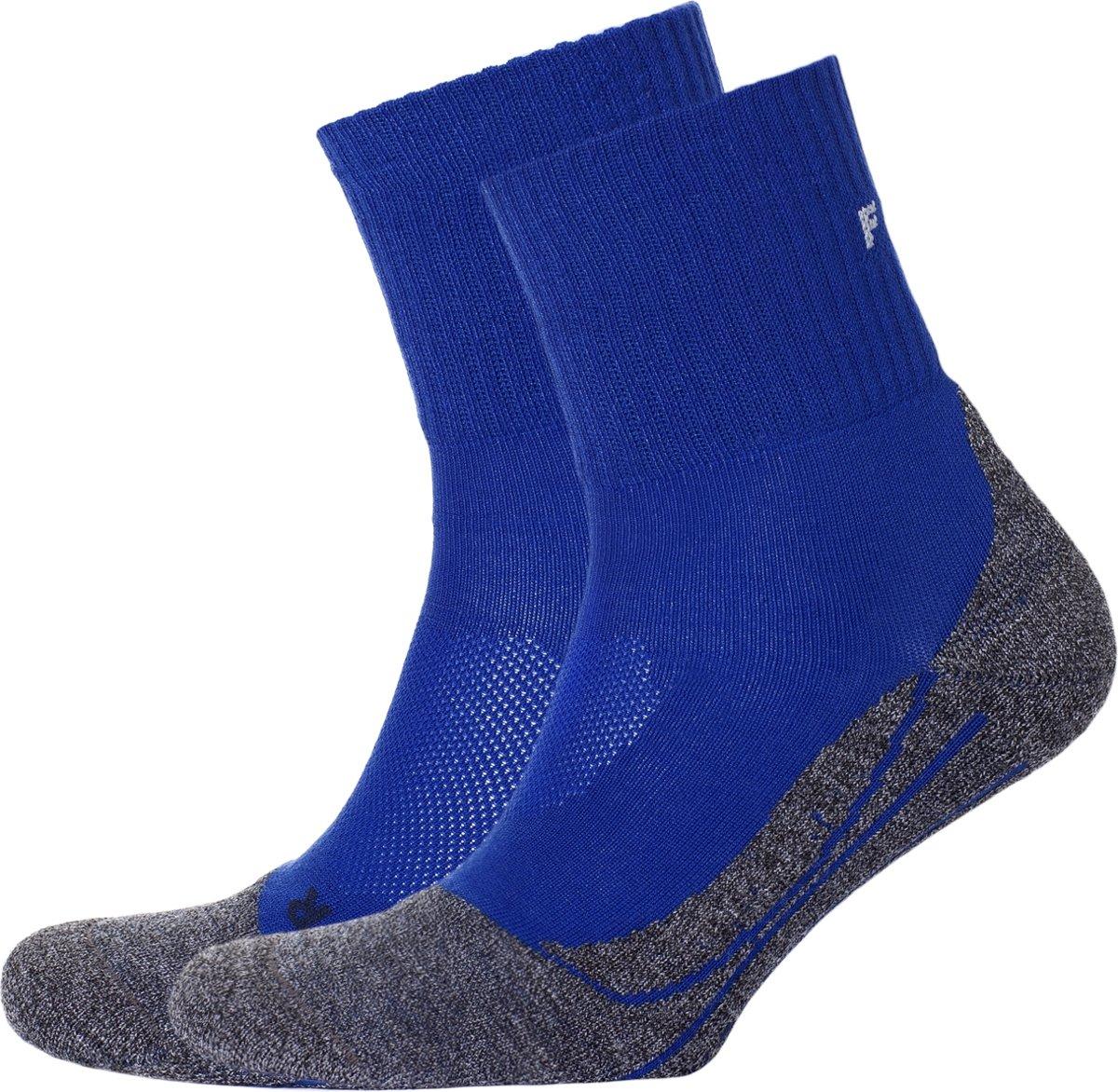 Falke TK2 Short cool heren wandelsokken - kobaltblauw kopen
