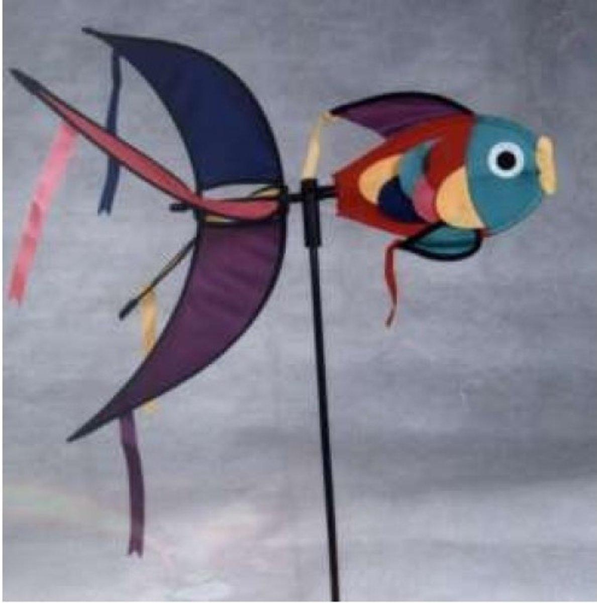 Windspel Schubbenvis 55 cm.