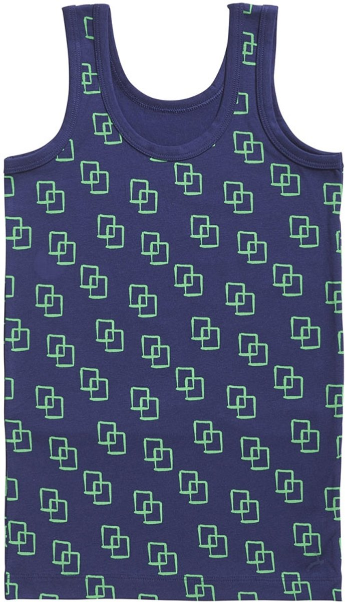 YUNY Men Exercise Vest Quick Drying Sleeveless Thin and Light Summer Plaid Printed Vest Sapphire Blue L