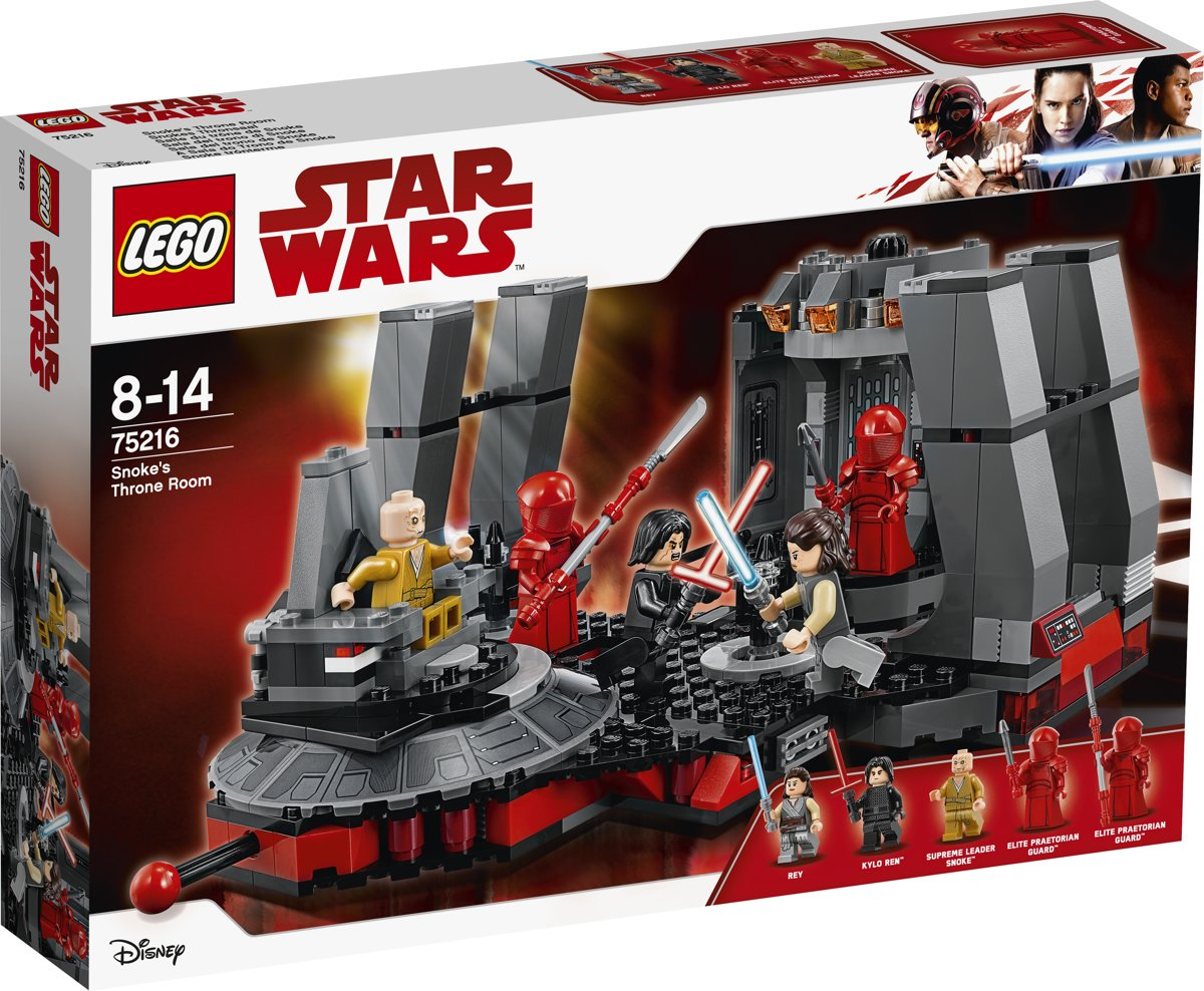 LEGO Star Wars Snoke's Troonzaal - 75216