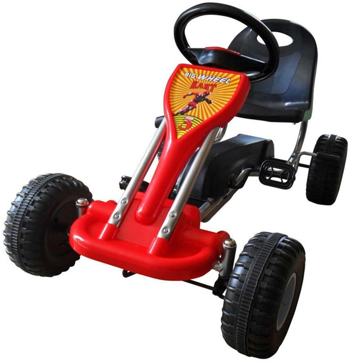 Skelter Kart Rood 3 4 5 jaar - Trapauto - Kart auto voor kinderen