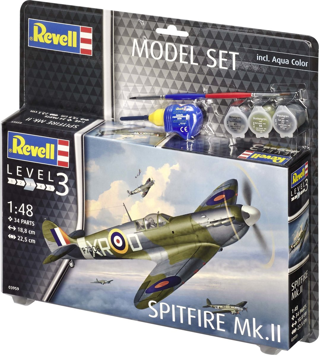 Revell Model Set Spitfire Mk.II